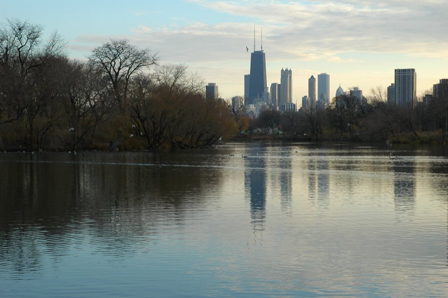 Lincoln Park's North Pond