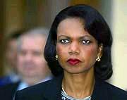 Condi Rice Death Ray Eyes