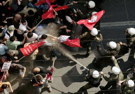 Condi Greece2 Condi-Greece REUTERS/Yiorgos Karahalis