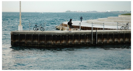Fisherman, Diversey Harbor