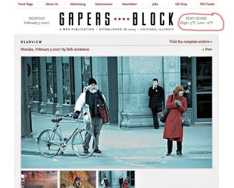 Gapers Block 2-5-07