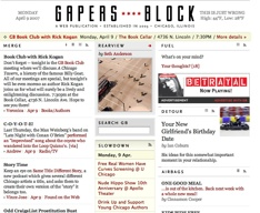 Gapers Block 4-9-07