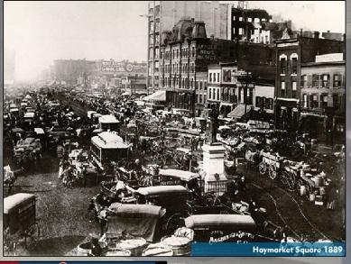 Haymarket Square 1889