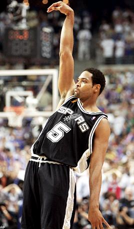 Robert Horry knew how to do one thing - win. He also knew how to knock little Stevie Nash down, so I guess that's actually two things.