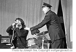 Morrison Arrested