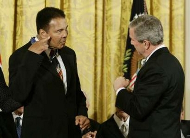 Muhammad Ali and GWB