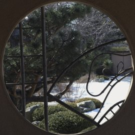 Japanese Temple window