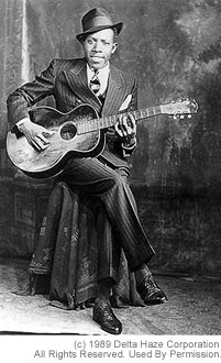 Robert Johnson Studio portrait