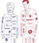 Political NASCAR suit