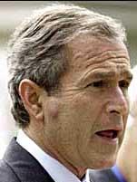 George W Bush Pimple