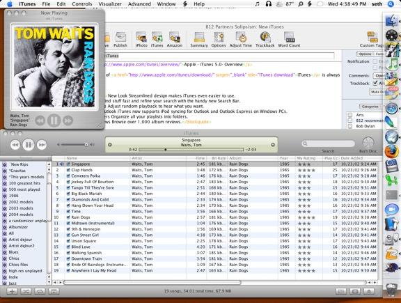 Itunes 5 Desktop