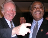 Whiny Joe Lieberman and Al Sharpton