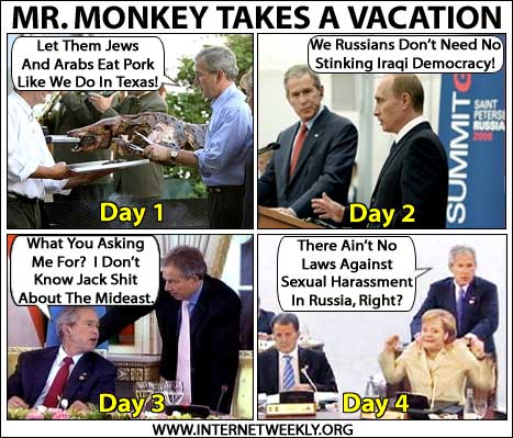 Mr Monkeys Vacation