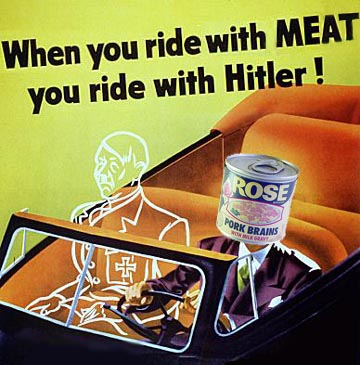 When you ride with Meat you Ride With Hitler