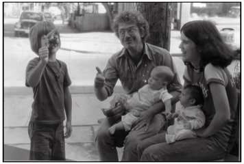 Seth, Steve Watson, Colleen Murphy and unknown infants and monsters