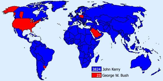 if the World had voted....
