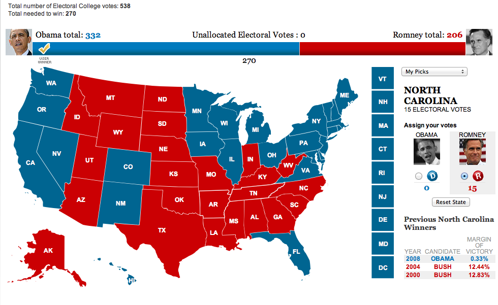 free usa dating site 2012 electoral votes Politico's live 2016 election results and maps by state,  connect with us 2016 election results   270 of 538 electoral votes needed to win democratic blue.