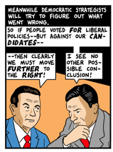 Democratic Strategists Are Clueless - Tom Tomorrow