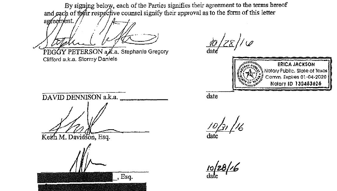 Peggy Peterson vs David Dennison